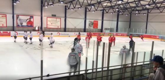 Training Kölner Haie